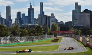 Albert Park is scheduled to host the Australian Grand Prix - the first race of the new Formula One season - on 15 March