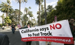 "Los Angeles community members share the reservations of more than 250 tech companies which oppose the Trans-Pacific Partnership (TPP) and Trade Promotion Authority (TPA) known as ""The Fast Track."