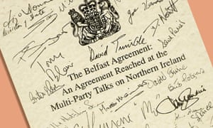a copy of the final published Good Friday Agreement by all the major participants