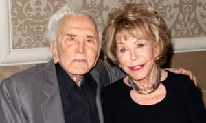 Douglas and his wife Anne in 2013.