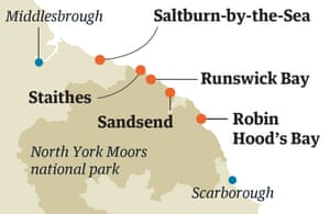 Saltburn map