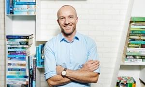 The late Matt Richell, former CEO of Hachette Australia.