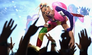 Miley Cyrus at the 2015 MTV Video Music Awards.