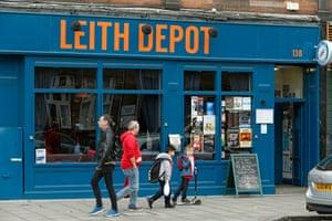 Leith Depot, music venue on Leith Walk