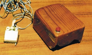 The computer mouse was first demonstrated in 1968.