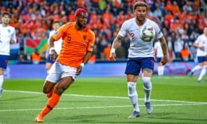 Ryan Babel is an elder statesman in the Netherlands side that will take on Portugal in the Nations League final.