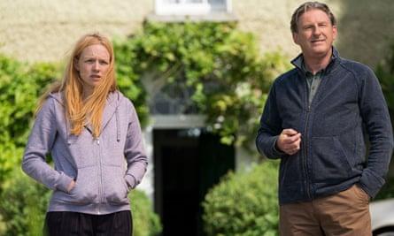 Carolina Main (Cat Hogan) and Adrian Dunbar (Jim Hogan)