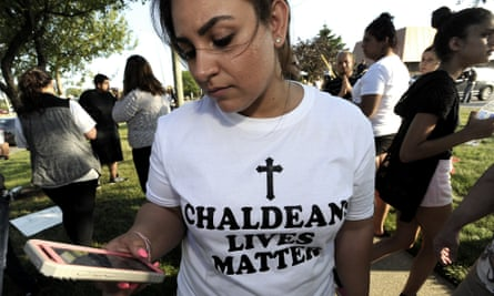 One hundred and fourteen people were detained in Detroit alone, most of whom are members of Iraq's Chaldean minority.