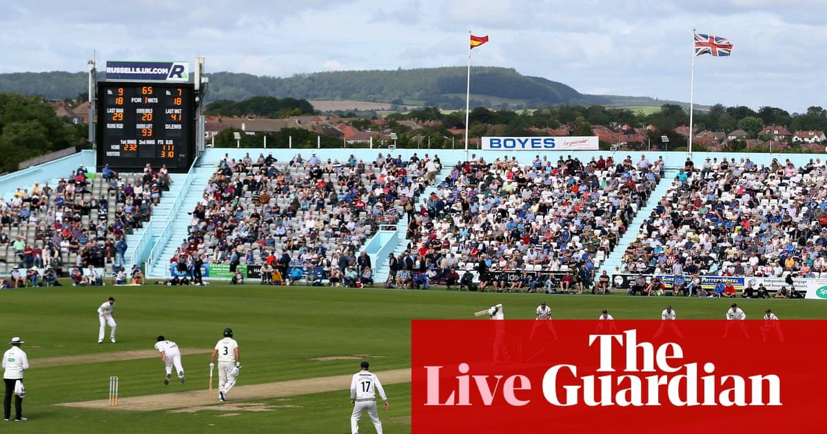 County cricket: Yorkshire v Notts, Warwickshire v Somerset –live!