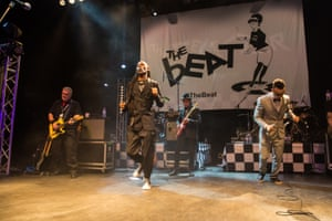 Ranking Roger and Ranking Junior of The Beat perform at O2 Shepherd's Bush Empire in London in 2017