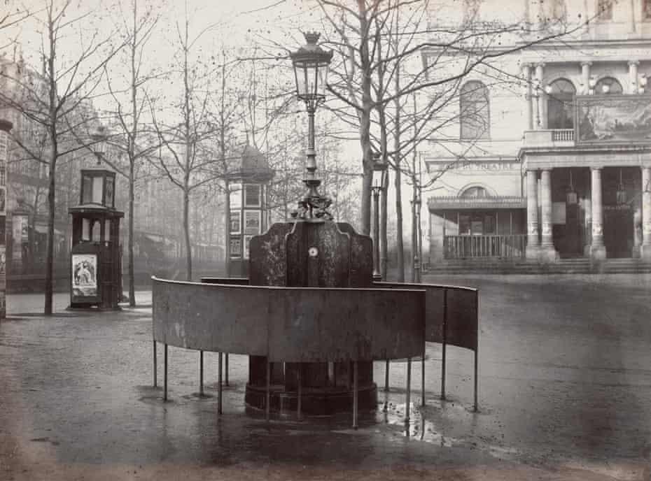 'Ubiquitous sight' … a urinal at Place de l'Ambigu, Paris, 1875.