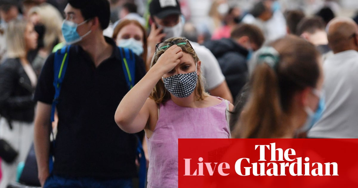 Coronavirus live news: UK deaths climb as Australia battles to contain Covid-19 cluster – The Guardian