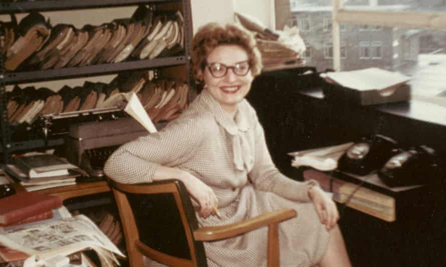 Betty Willingale in the BBC script unit in the 1960s