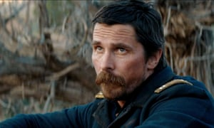 Christian Bale in Hostiles … 'It's an incredible story of American history.'