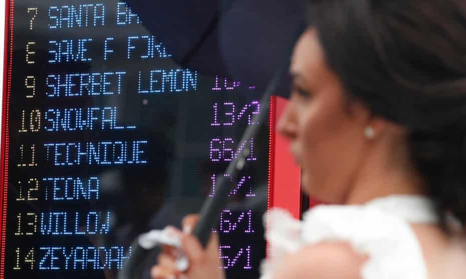 Tote betting prices are displayed at the Epsom Derby Festival in June. Jamie Hart, UK Tote Group's product director, says it has become better value.