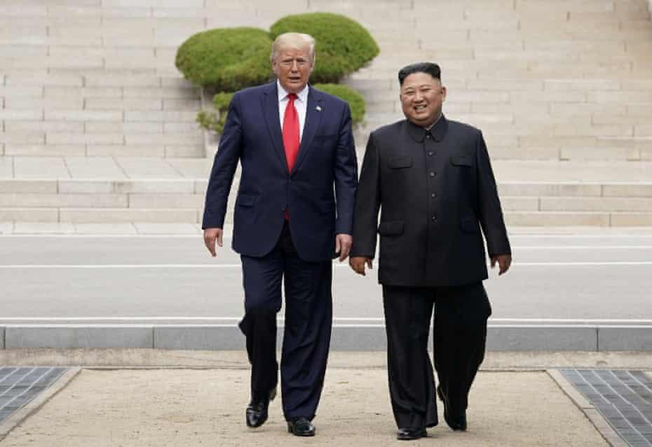 Donald Trump described his correspondence with North Korean leader Kim Jong-un as 'love letters'.
