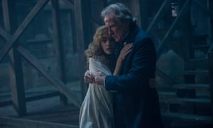 olivia cooke and bill nighy in the limehouse golem