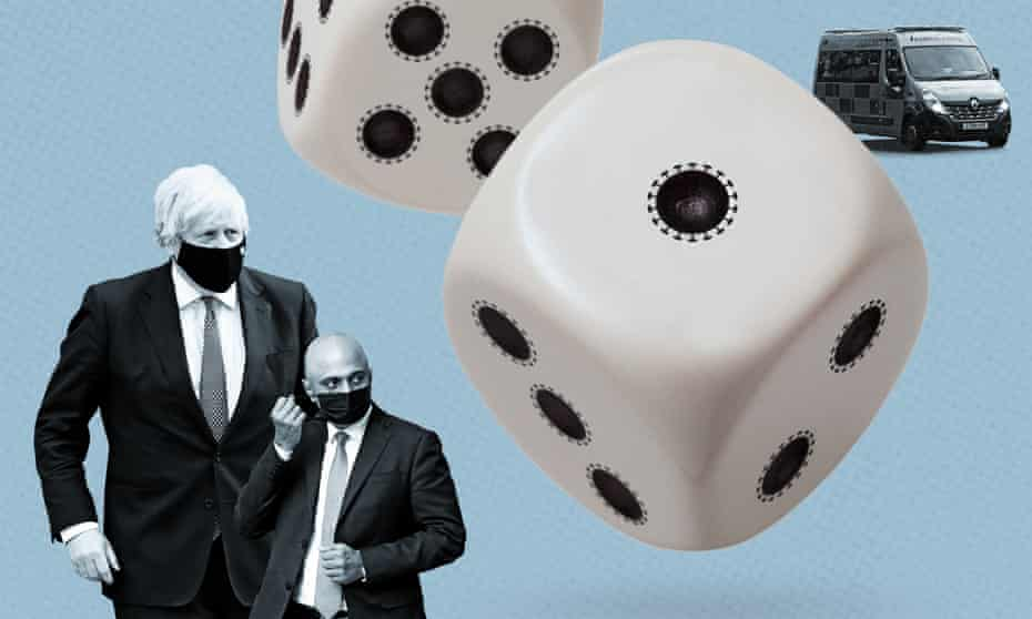 Johnson, Javid and dice