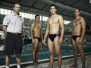 Matt Nable, Ben Kindon, Elias Anton and Andrew Creer in Barracuda