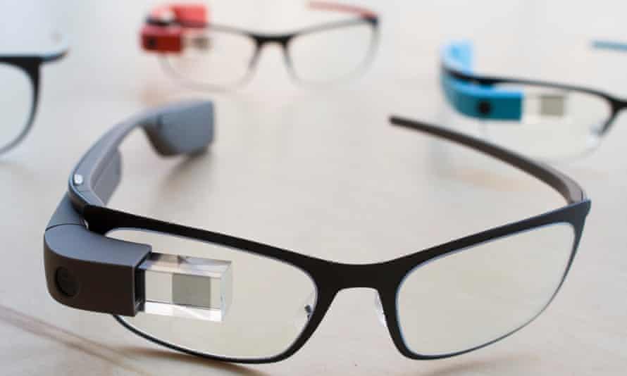 Google Glass prescription frames.