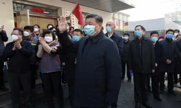 Coronavirus: outspoken academic blames Xi Jinping for 'catastrophe' sweeping China | Coronavirus outbreak | The Guardian