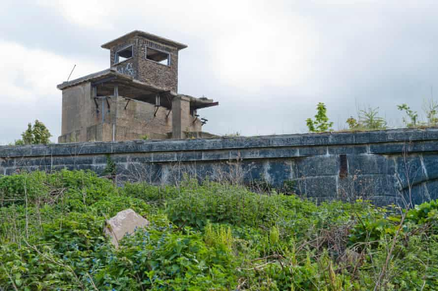 Part of Cliffe Fort, built originally in the 1860s to withstand a potential French attack
