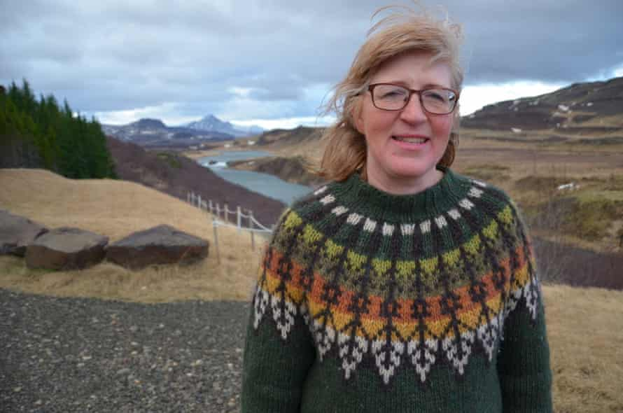 Icelandic farmer Gudrun og Eidur in Borgarnes, west Iceland, fears escaped farmed salmon will soon be found in the Nordura river, home to many wild salmon, risking genetic pollution.