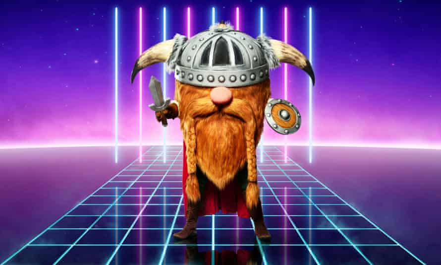 The Masked Singer's triumphant Viking.