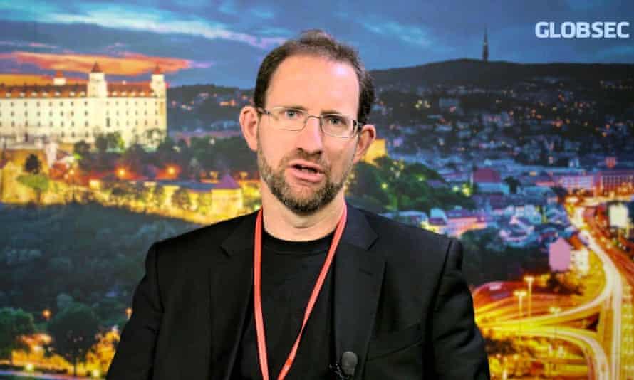 Ben Nimmo, a security expert for the Atlantic Council