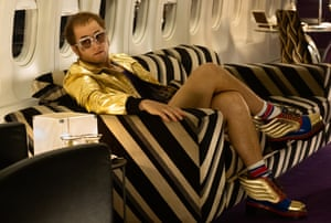 'Welcome to my world, baby': Taron Egerton as Elton John in Rocketman.