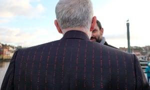 Corbyn in suit