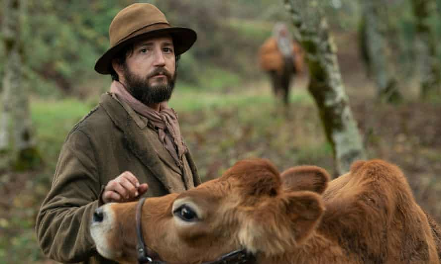 John Magaro and friend in First Cow.
