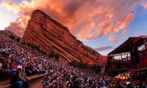 Red Rocks Amphitheatre, near Denver, Colorado, US