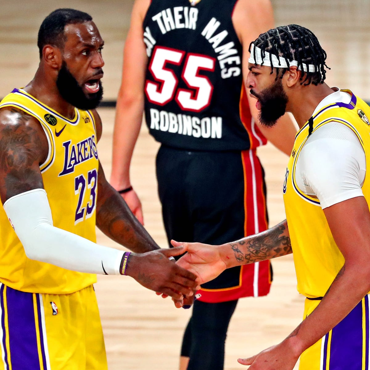 La Lakers Crush Miami Heat In Nba Finals Opener Behind Anthony Davis S 34 Nba Finals The Guardian