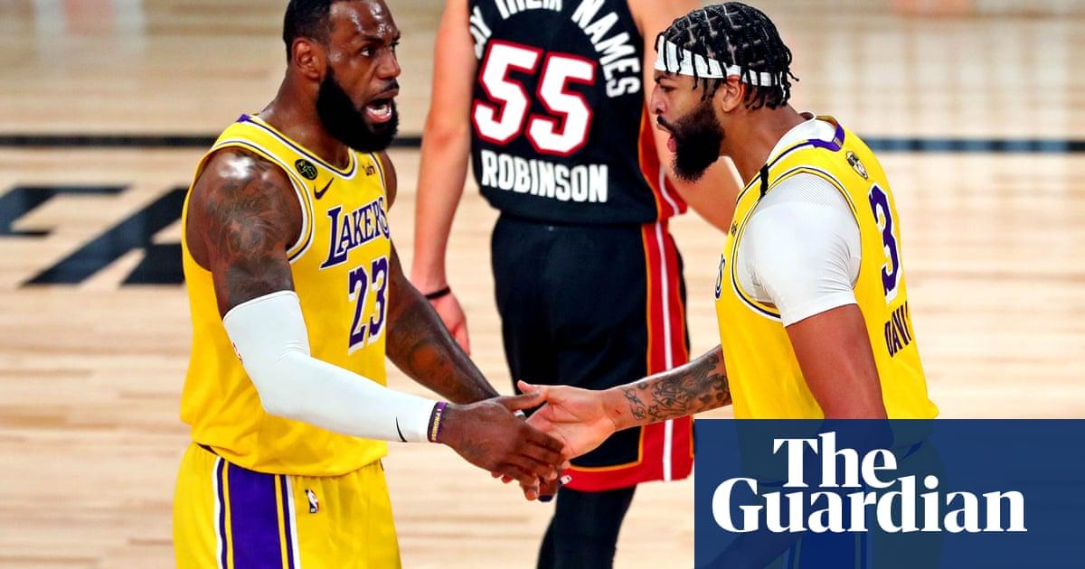 LA Lakers crush Miami Heat in NBA finals opener behind Anthony Daviss 34