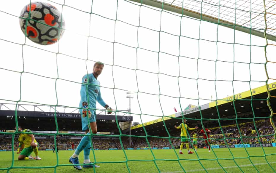Tim Krul concedes another goal as Norwich lose again.