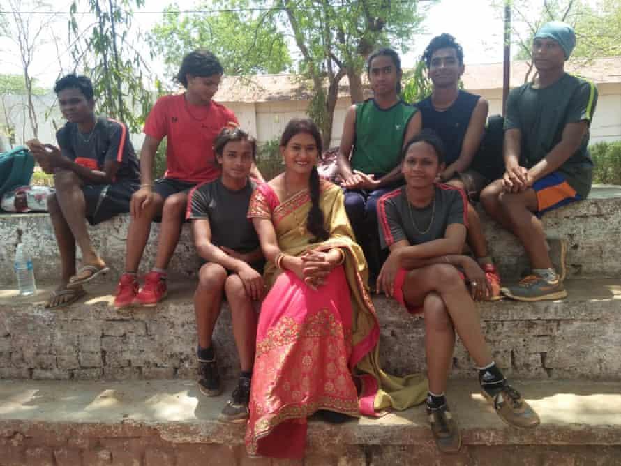 Vidya Rajput and trans police trainees