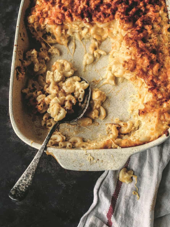 Toni Tipton-Martin's baked macaroni and cheese.