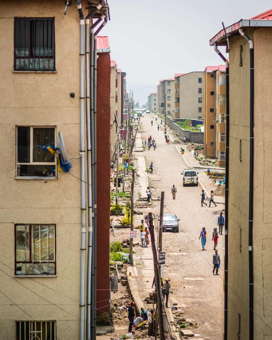 Tilu Dimtu, completed two years ago and now housing 10,000 people.