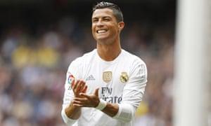 Sanitised hagiography … Ronaldo.