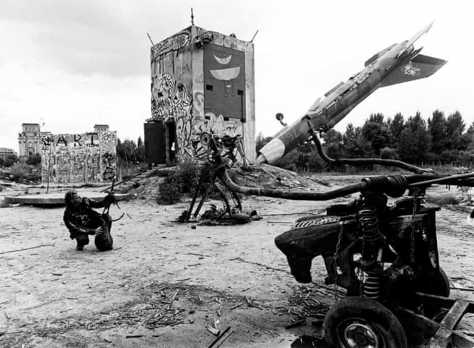 'We pointed the MiG into the ground to make it clear we weren't going to fire missiles into the Reichstag' … Berlin, 1989.