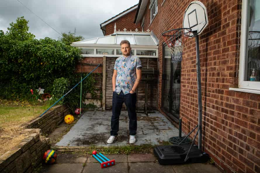 Christopher Spencer at home in Sutton Coldfield