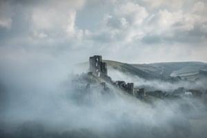 Shortlist - Corfe Castle in the Clouds, by Michael Marsh