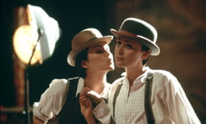 Rachael Stirling (left) and Keeley Hawes in Tipping the Velvet.