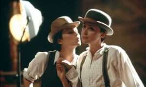 Rachael Stirling (left) as Nan in the BBC adaptation of Sarah Waters' Tipping the Velvet.
