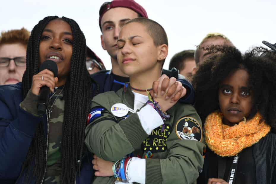 Parkland students during the March for Our Lives.