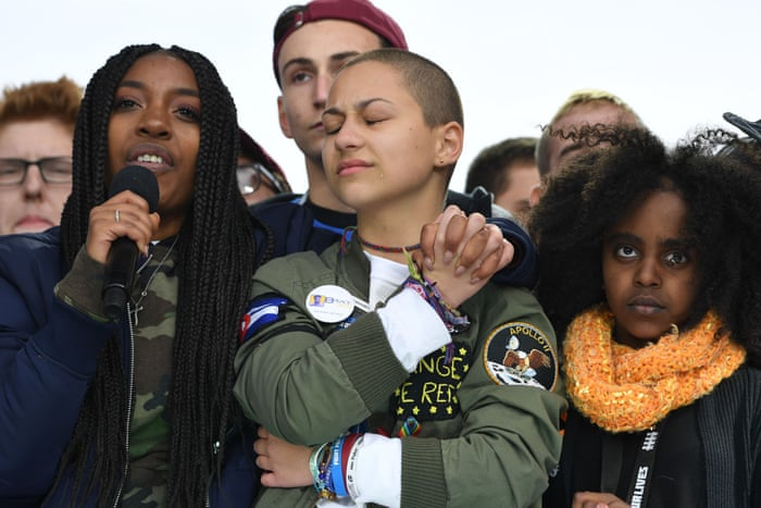 We can't let fear consume us': why Parkland activists won't