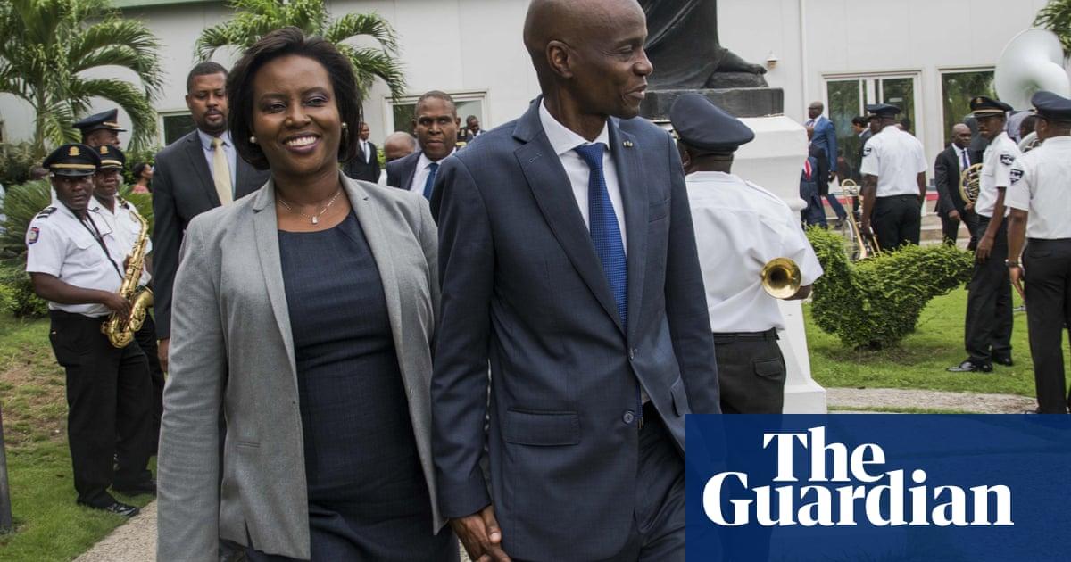 Widow of slain Haitian leader allegedly blames political enemies as power struggle intensifies