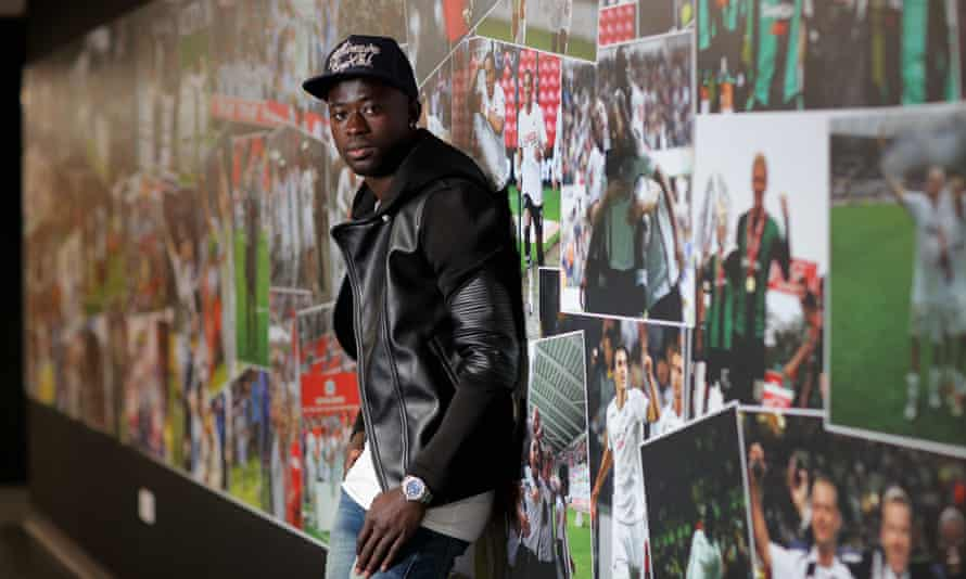 Swansea City winger Modou Barrow is the first Gambian to play in the Premier League