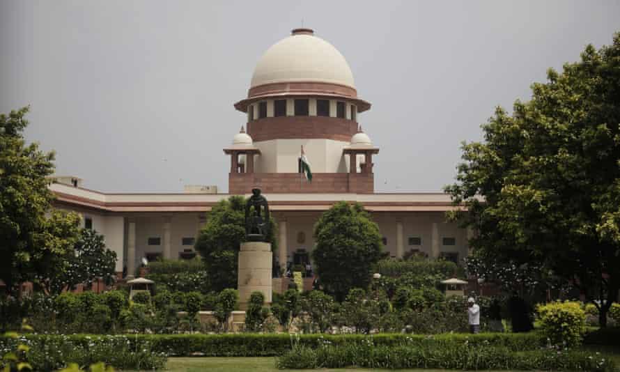 The Supreme Court in New Delhi, India